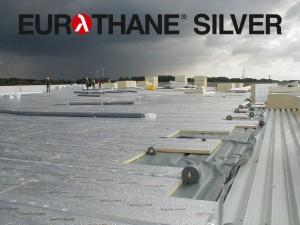 Eurothane_Silver_PIR_plokstiems_stogams