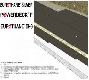 Eurothane_Silver_plokscio_stogo_sistema_balastine