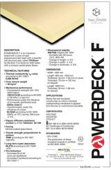 Powerdeck F_instrukcija