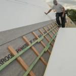 Slaitiniai stogai poliuretano siltinimas